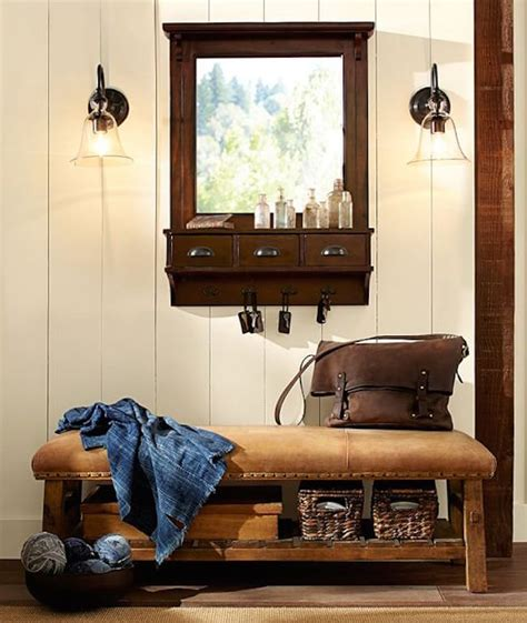 pottery barn shoe bench 8 welcoming entryway benches that maximize storage space