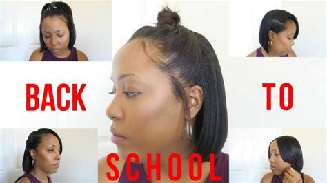 back to school heatless hairstyles 9 heatless back to school hairstyles for relaxed and