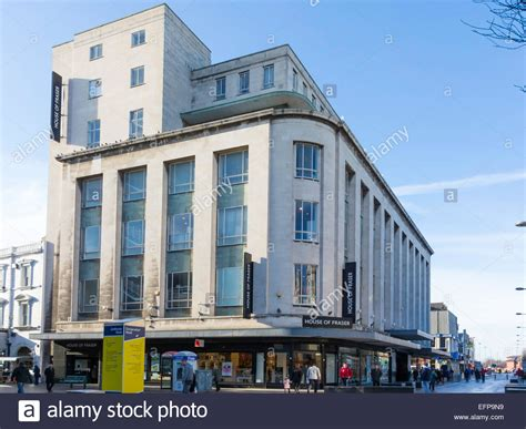 historical architectural style the art deco waterfall binns building now house of fraser store built 1950 s art