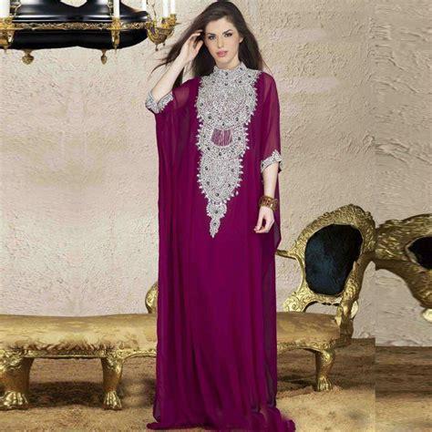 caftan robe soire 2016 popular purple kaftan buy cheap purple kaftan lots from