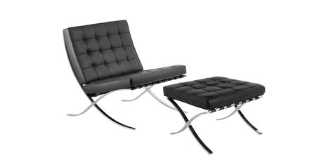 Mies Der Rohe Stool by Stockware Sales Barcelona Chair And Stool By Ludwig