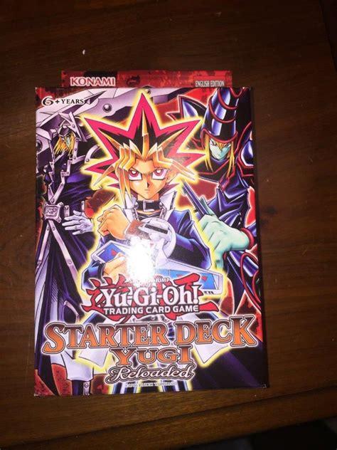 yugi starter deck 1st edition yu gi oh starter deck yugi reloaded edition factory