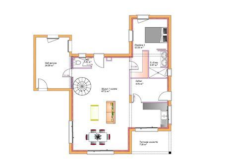 plan maison toit plat 3283 plan maison toit plat plan maison toit plat mc immo plan
