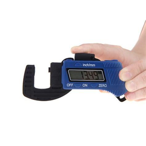 Carbon Fiber Composites Digital Thickness Caliper Micrometer Guage g15 0 12 7mm 0 01mm carbon fiber composites digital