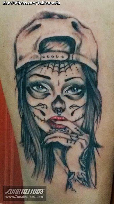 imagenes tatuajes catrinas tatuaje de catrinas