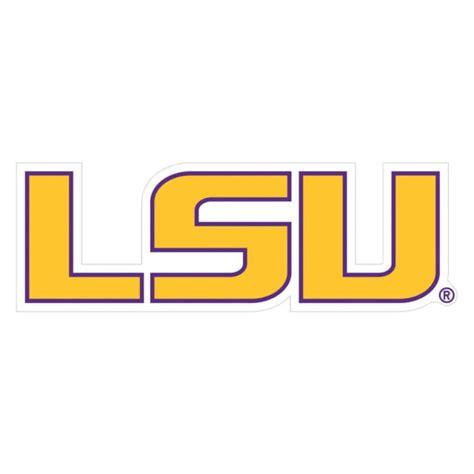 NCAA Football Team 8 Inch Logo Magnet LSU Tigers for sale ... Lsu Football Logo