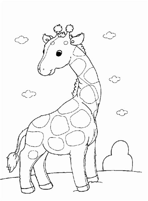 Giraffe Coloring Pages Coloring Town Color Coloring Pages