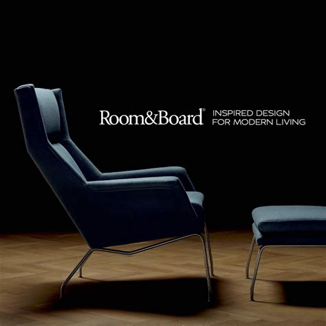 with room and board room board 2014 catalog fonts in use