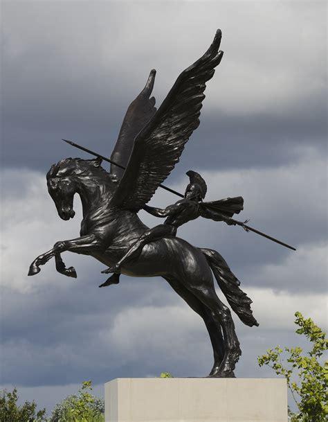 bellerophon on pegasus peter bindon flickr