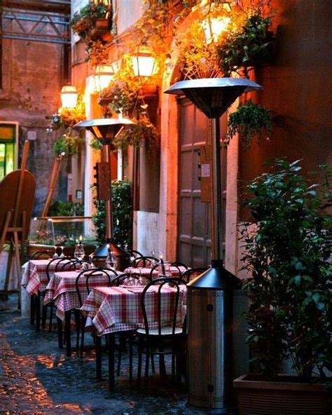 best trattorias in rome outdoor cafe in rome italy pictures photos and images