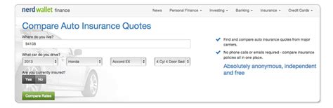 Free Auto Insurance Quotes Comparison by New Tool Provides Free Anonymous Car Insurance Quotes