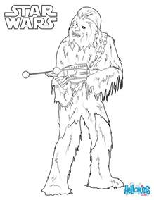 coloriages chewbacca le wookie fr hellokids
