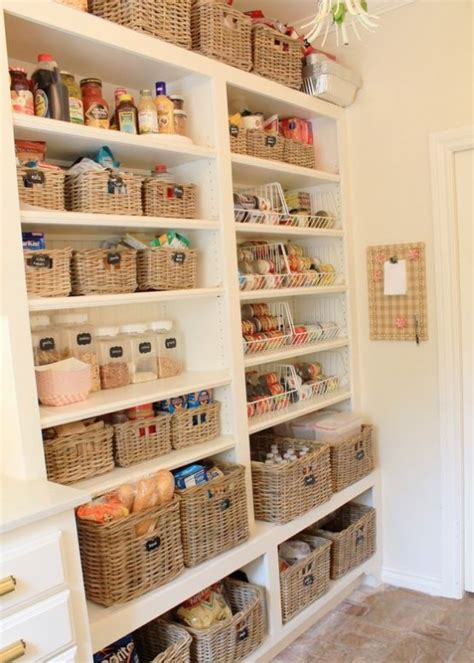Ideas To Organize Pantry by How To Organize Your Pantry 35 Easy And Smart Ideas