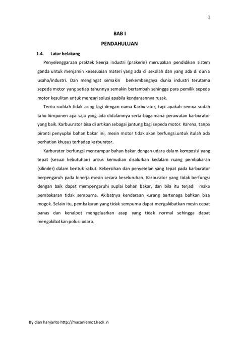 cara membuat laporan praktikum kuliah cara membuat latar belakang laporan kerja praktek laporan