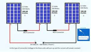 how to connect solar panels in series electrical bazaar on web electrical bazar on web