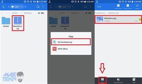 2 cara mudah membuka file rar dan zip di hp android 2 cara mudah membuka file rar dan zip di hp android