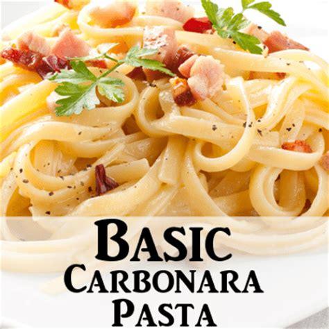 carbonara sauce recipe rachael ray show rachael ray basic pasta carbonara recipe with pancetta