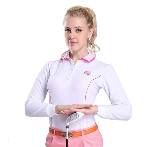 Polo Panjang Longsleeve Pgm Golf golf pgm authentic sleeve golf shirts for mens
