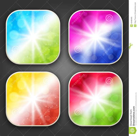 abstract wallpaper app abstract backgrounds with for the app icons stock vector