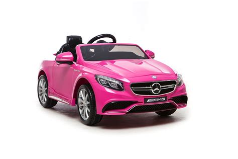 pink mercedes amg mercedes s63 amg electric ride on car pink available