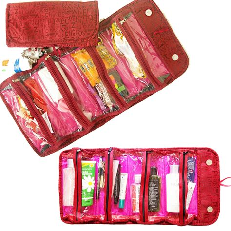 Roll N Go Cosmetic Bag Make Up Organizer Travel Mate roll up cosmetic bag trend bags