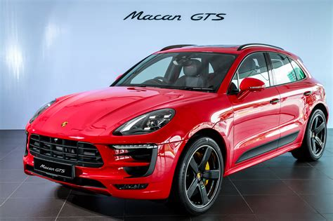 macan porsche gts porsche macan gts launched in malaysia rm710k image 509728
