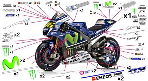 Yamaha M1 Aufkleber by Stickers Yamaha Movistar Motogp 2016 Yzf R1 M S Abs