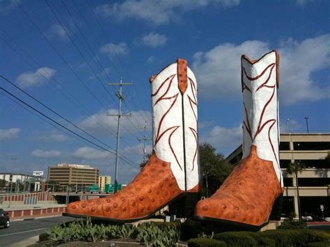 cowboy boots san antonio 50 states or less the worlds largest cowboy boots san