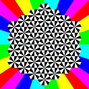 clipart half regular triangle tessellation