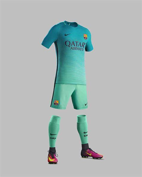Barcelona Third fc barcelona 3rd kit 2016 17