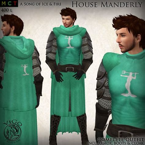 house manderly second life marketplace vigo house manderly game of thrones