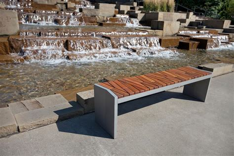 forms and surfaces benches boardwalk bench outdoor forms surfaces
