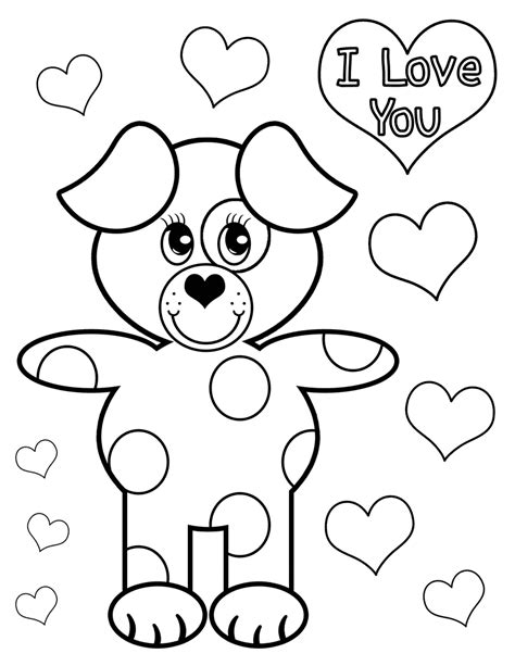 Love You Coloring Pages Print | quot i love you quot coloring pages gt gt disney coloring pages