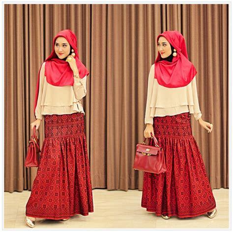 Baju Muslim Gamis Korin Vs model terbaru baju muslim modis dian pelangi trend model