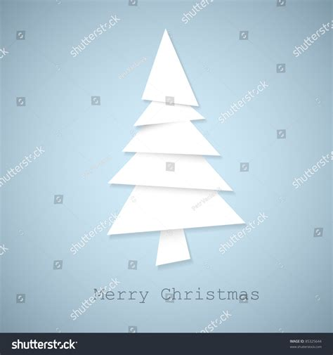 How Many Pieces Of Paper Does A Tree Make - simple vector tree made from pieces of white