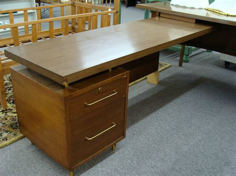 mid century l shaped desk braxton and yancey mid century danish modern desks and