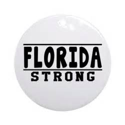florida strong designs ornament round by teezforeveryone