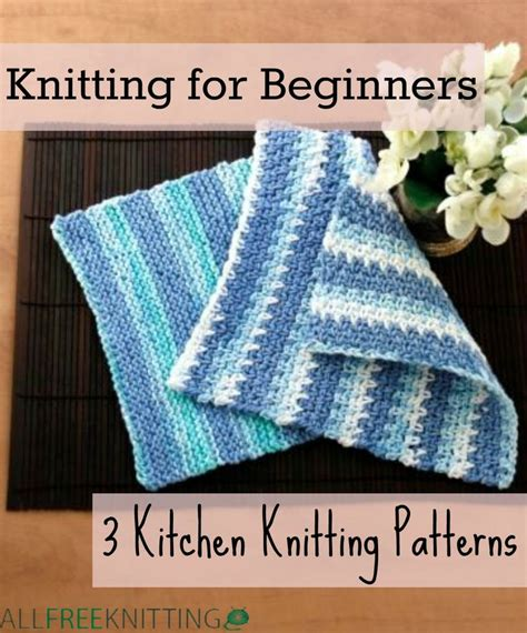knitting for beginners 30 easy knitting and crochet patterns for beginners