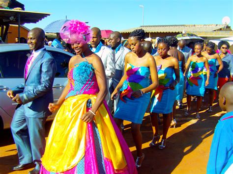 In The Know On The Move   Tladi and Hlompho?s wedding