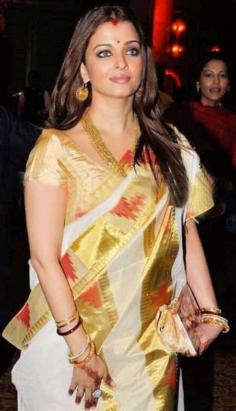 aishwarya rai saree yellow 20 awesome pics of aishawarya rai in saree
