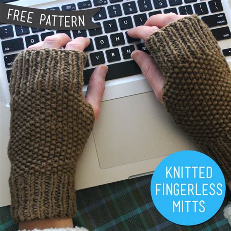 free fingerless gloves knitting pattern uk 40 mittens and gloves crafts to make