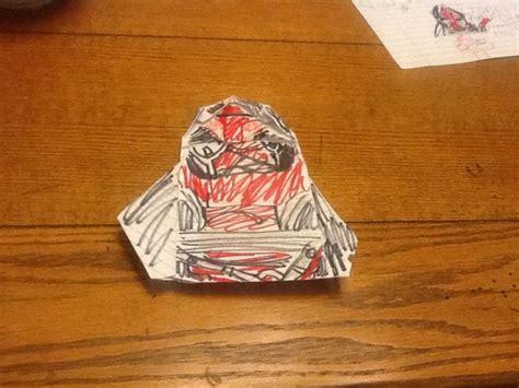 Next Origami Yoda Book - darth revan origami yoda