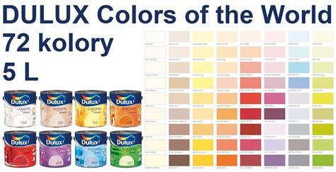colors of the world dulux kolory 蝴wiata 5l emulsja lateksowa 72 kolory do