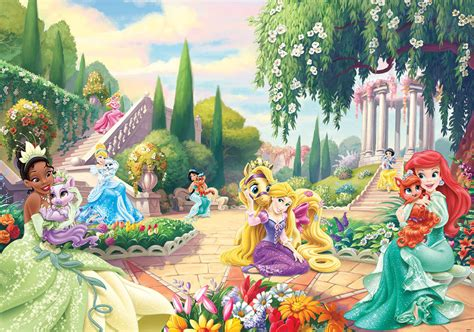 s room wall mural photo wallpaper 368x254cm palace pets disney garden ebay