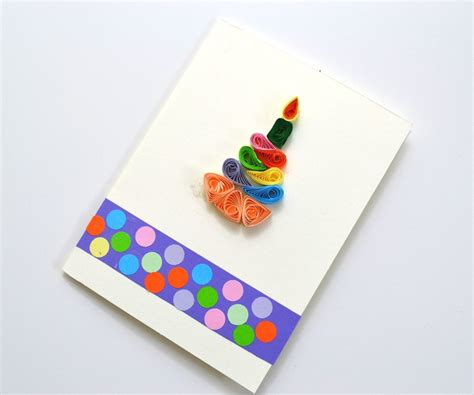 Paper Craft Ideas For Birthday - how to make quilling cards for birthday diy paper crafts