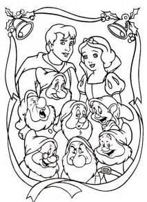 of snow white and the seven dwarfs free coloring pages