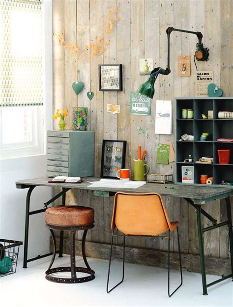 Industrial Office Decor by 29 Industrial Home Office Designs Decorating Ideas