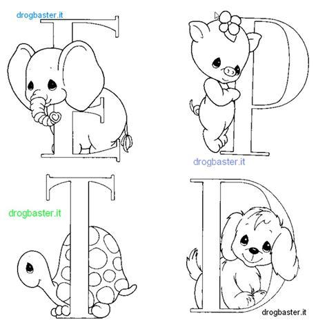 lettere alfabeto con disegni per bambini lettere alfabeto e numeri da stare e colorare
