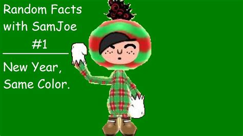 new year random facts random facts with samjoe 1 new year same color