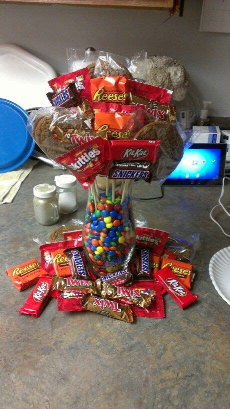 candy bouquet gifts for him for my favorites pinterest